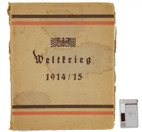 Philip M. Powers Scrapbook, World War, 1914-1918
