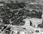 Wofford College Aerial Photo, 1950s