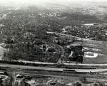 Wofford College Aerial Photo, 1954
