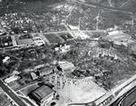 Wofford College Aerial Photo, 1963