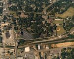 Wofford College Aerial Photo, 1987 by Wofford College