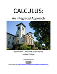 Calculus: An Integrated Approach