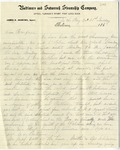 Correspondence to General William Robertson Boggs, 1860s: October 28, 1867 - February 18, 1869 by Edith Symington, James L. Robertson, Elizabeth McCaw Boggs, William Robertson Boggs Jr., J. S. Loomis, and David Wells