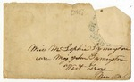 Miscellaneous Correspondence Written by William Robertson Boggs: June 26, 1855 - April 15, 1880.