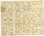 """Correspondence to Elizabeth (""""Bessie"""") McCaw Boggs Taylor, August 31, 1888 - December 10, 1901"""