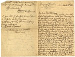 Correspondence M. Rebecca Boggs, March 18, 1903 - December 2, 1911