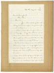 Letter: Lafayette McLaws to Isaac R. Pennypacker, August 30, 1889 by Lafayette McLaws
