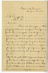 Letter: Lafayette McLaws to Isaac R. Pennypacker, August 28, 1888 by Lafayette McLaws