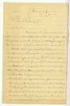 Letter: Lafayette McLaws to Isaac R. Pennypacker, May 20, 1888