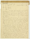 Letter: Lafayette McLaws to Isaac R. Pennypacker, February 13, 1888