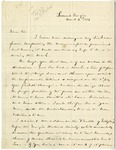 Letter: Lafayette McLaws to Isaac R. Pennypacker, March 8, 1886