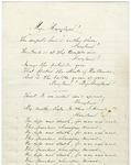 James Randall poetry manuscript