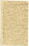 Indenture signed by Silas Deane