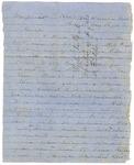 John E. Wharton letter to Joseph Wheeler