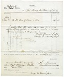 Confederate requisition signed by Turner Ashby