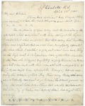 Letter from Joseph E. Johnston to Winnie