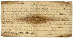 Court order signed by  John Sevier