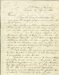 Letter from E. Kirby Smith to Braxton Bragg