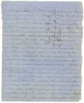 John A. Wharton Letter to Joseph Wheeler regarding pistols