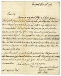 Thomas Gage letter to Andrew Simpson