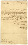 Henry Laurens letter to Earl of St