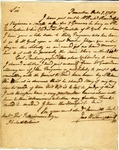 Letter from John Witherspoon to Thomas Fitzsimons