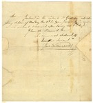 John Witherspoon letter to Thomas Fitzsimons and Christopher Gadsden