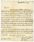 Thomas Gage letter to Andrew Simpson by Thomas Gage