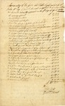 An Inventory of the Goods and Chattels Rights and Credits of John McCery of Amwell by John Hart and David Stout