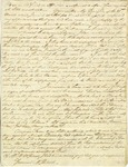 Letter from Henry Laurens to General McIntosh