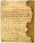 Letter from Anthony Wayne to Mordecai Gist
