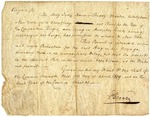 Letter from Patrick Henry