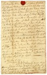Indenture, signed by John Rutledge, 1786.