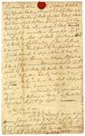 Indenture, signed by John Rutledge, 1786.