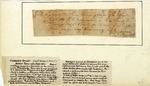 Receipt for a gun, signed by Daniel Morgan, 1777.