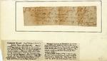 Receipt for a gun, signed by Daniel Morgan, 1777.