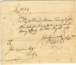 Order to pay David Bottom, signed by Oliver Ellsworth, 1778.