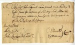 Order to pay soldiers, signed by Oliver Ellsworth, January 1776.