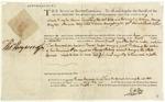 Warrant for Charles Drayton, signed by Thomas Heyward, Jr. Charleston, 1877.
