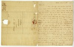 Letter to William Lyle from Benjamin Lincoln regarding business matters and Lincoln's plans to travel, 1785.