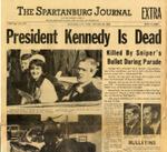 Spartanburg Journal Extra, November 22, 1963