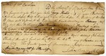 Warrant for John King signed by John Sevier. North Carolina, 1779.
