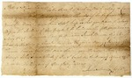 Warrant for Robert Shurley on a charge of debt brought by Jacob Brown. Signed by John Sevier, North Carolina, 1778.