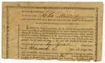 Fragment of a deed distributing 202.5 acres of land