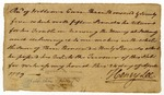 Receipt for £3090 signed by Henry Lee, 1779.