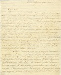Letter from Henry Lee to William Goddard, from Turks and Caicos Island, 1816.