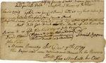 Deposition regarding land, signed by Daniel Boone, David Morris, John Porter, Lewis Craig, Thomas Marshall. Mason County, Kentucky, 1797.