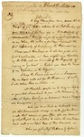 Elias Boudinot letter to James Parker on legal matters. Elizabethtown, N.J., 1787.