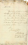 Letter from Pierce Butler to John Ross requesting money, 1795.