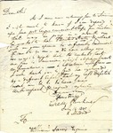 Charles Pinckney letter to William Jarvis, 1805, Madrid.